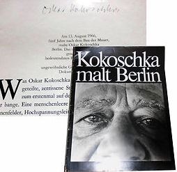 Kokoschka, Oskar. Kokoschka malt Berlin.
