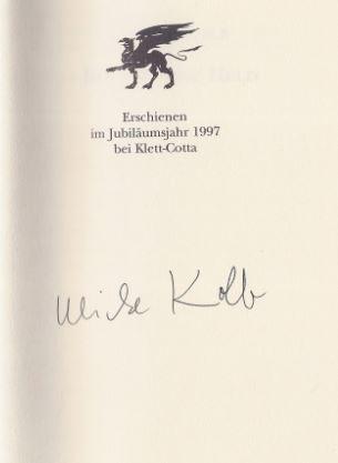 Kolb, Ulrike. Roman ohne Held.