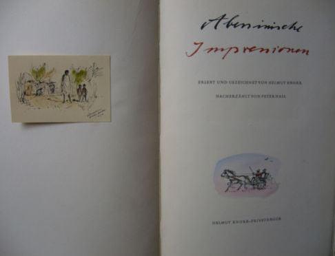Hall, Peter und Helmut (Illustrator) Knorr. Abessinische Impressionen.