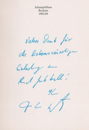 Kroetz, Franz Xaver. Furcht und Hoffnung der BRD.