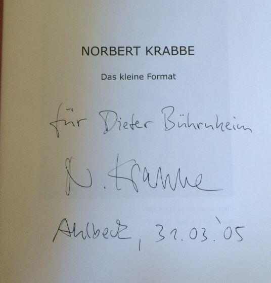 Krabbe, Norbert. Das kleine Format.