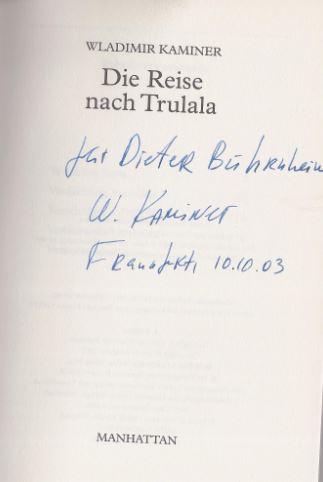 Kaminer, Wladimir. Die Reise nach Trulala.