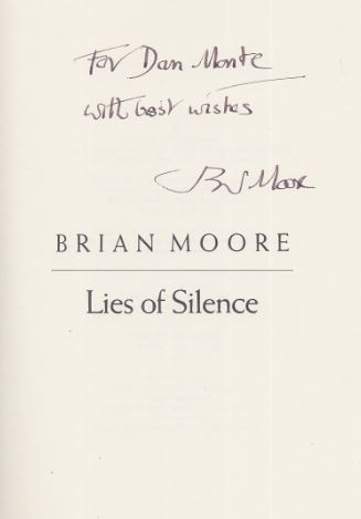 Moore, Brian. Lies of Silence.