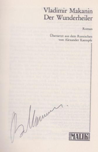 Makanin, Vladimir S. Der Wunderheiler.