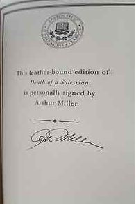 Miller, Arthur. Death of a Salesmann.
