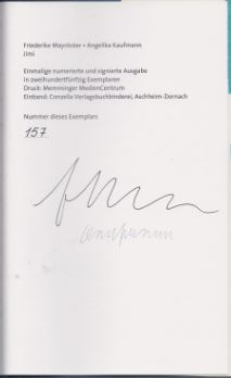 Mayröcker, Friederike und Angelika (Illustratorin) Kaufmann. Jimi.