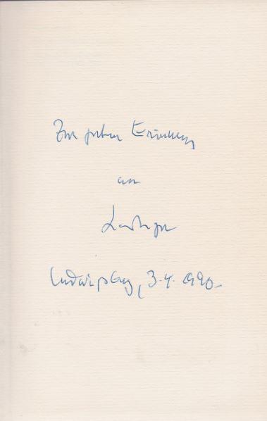 Mayer, Hans. Die unerwünschte Literatur.