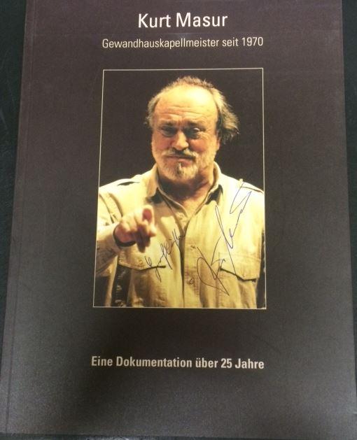 Böhm, Claudius. Kurt Masur. Gewandhauskapellmeister seit 1970.