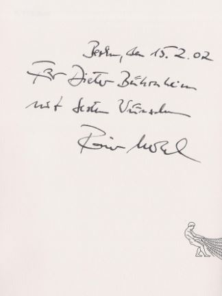Merkel, Rainer. Das Jahr der Wunder.