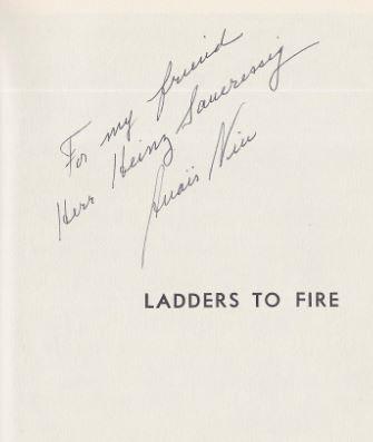 Nin, Anais. Ladders to Fire.