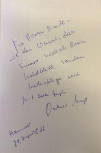 Negt, Oskar. Gesellschaftsentwurf Europa.