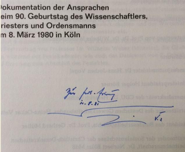 Sekretariat der Deutschen Bischofskonferenz. Oswald von Nell-Breuning SJ.