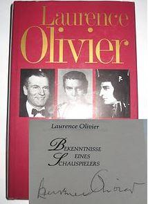 Olivier, Laurence. Bekenntnisse eines Schauspielers.