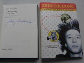 Pleschinski, Hans. Zerstreuung.