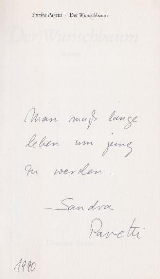 Paretti, Sandra. Der Wunschbaum.