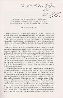 Kunisch, Johannes (Hrsg.) und Wolfram Pyta. Sonderdruck aus: Forschungen zur Brandenburgischen und Preußischen Geschichte.