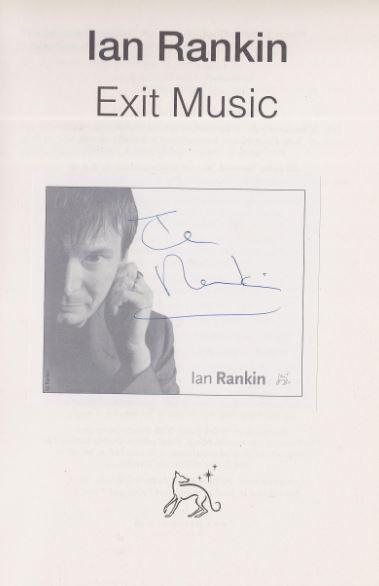 Rankin, Ian. Exit Music.