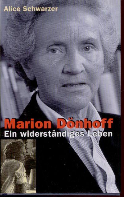 Schwarzer, Alice. Marion Dönhoff.