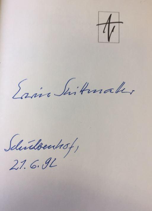 """Mohr, Arno. Zehn Holzschnitte zum Buch von Erwin Strittmatter """"Der Laden""""."""