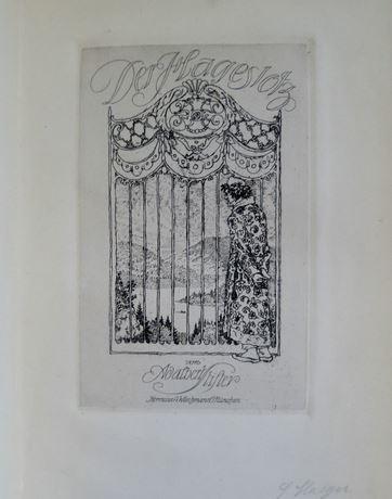 Stifter, Adalbert und Ferdinand (Illustrator) Staeger. Der Hagestolz.