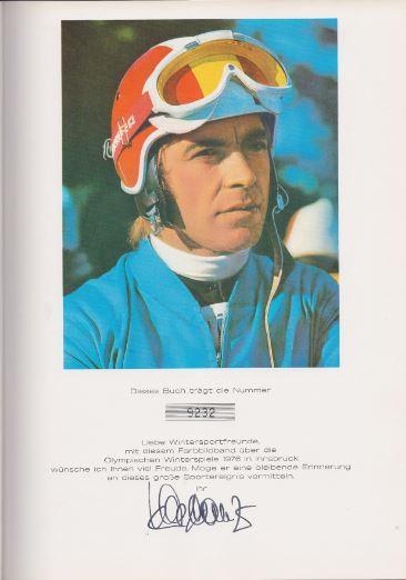 Schranz, Karl (Hrsg.). Olympische Winterspiele Innsbruck `76.