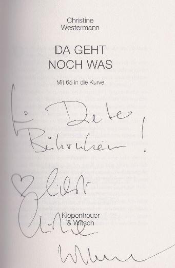 Westermann, Christine. Da geht noch was.