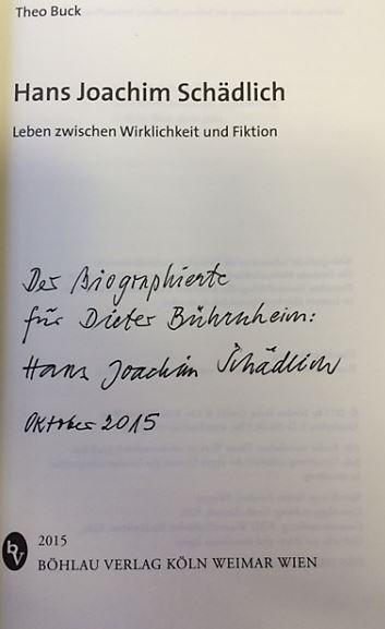 Buck, Theo. Hans Joachim Schädlich.