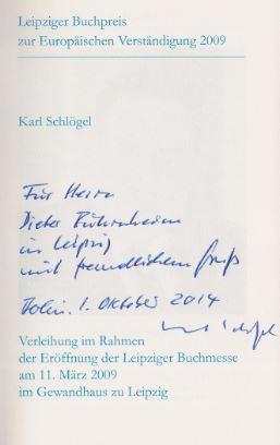 Kucharski-Huniat, Susanne (Hrsg.). Leipziger Buchpreis zur europäischen Verständigung 2009 - Leipzig BookAward for European Understanding.