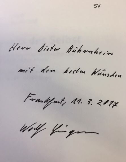 Singer, Wolf, Matthieu Ricard Friederike (Übersetzerin) Moldenhauer u. a. Jenseits des Selbst.