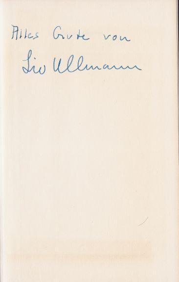 Ullmann, Liv. Gezeiten.