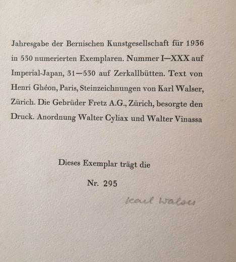 Ghéon, Henri und Karl Walser. Le miroir de Jésus.