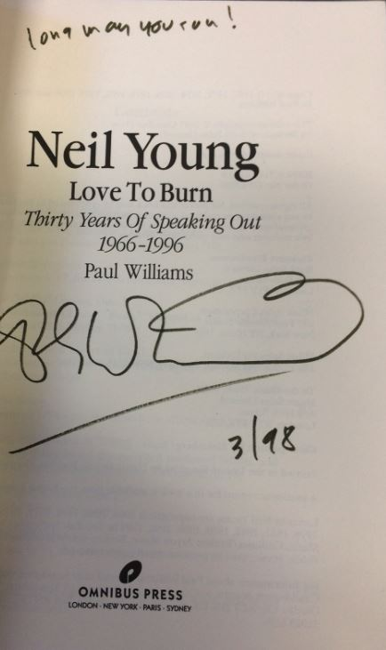 Williams, Paul. Neil Young.