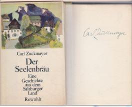 Zuckmayer, Carl. Der Seelenbräu.
