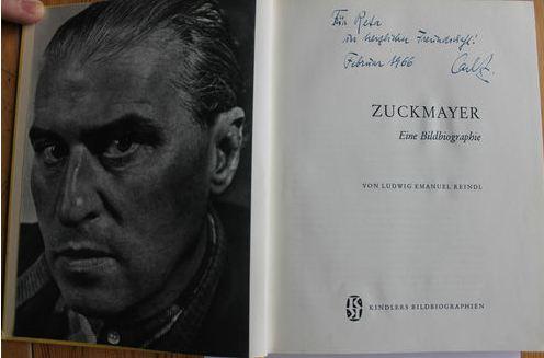 Reindl, Ludwig Emanuel. Zuckmayer.