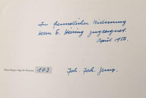Zingg, Thaddäus. Johann Jakob Zemp.