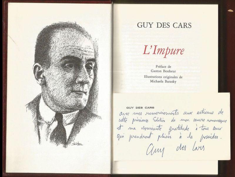 Cars, Guy des. L`Impure.