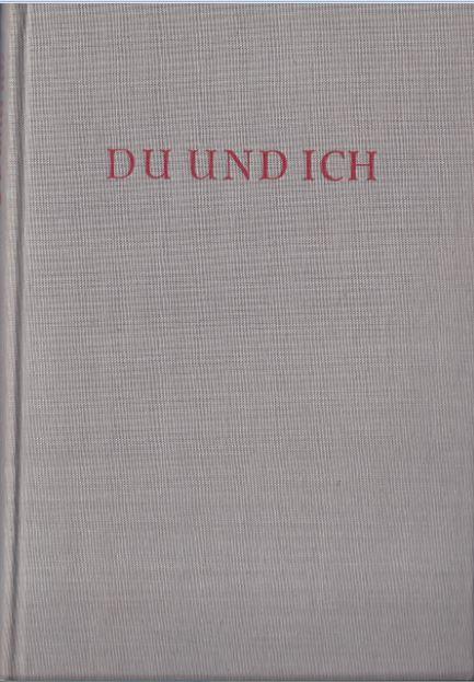Weber, Gerhard und Danuta Weber. Du und ich.