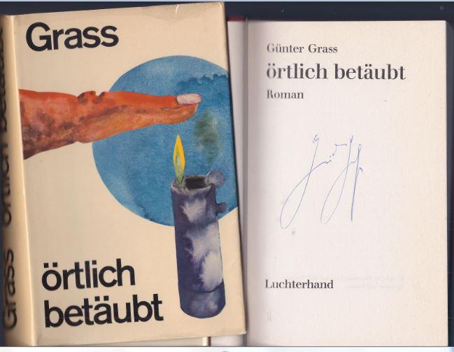 Grass, Günter. Örtlich betäubt.