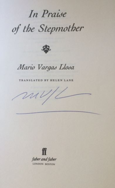 Vargas Llosa, Mario. In Praise of the Stepmother.