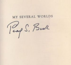 Buck, Pearl S. My several Worlds.