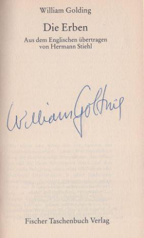 Golding, William. Die Erben.