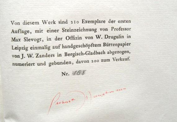 Hauptmann, Gerhart. Der Ketzer von Soana.