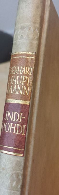 Hauptmann, Gerhart. Indipohdi. 1