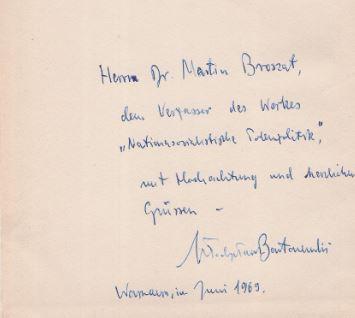 Bartoszewski, Wladyslaw. Der Todesring um Warschau 1939 - 1944.