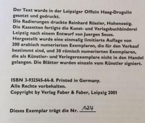 Tripp, Jan Peter und Herbert Kästner. Die ersten Zehn.