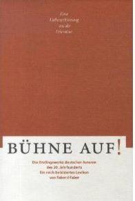 Faber, Elmar (Hrsg.) und Carsten (Hrsg.) Wurm. Bühne auf!