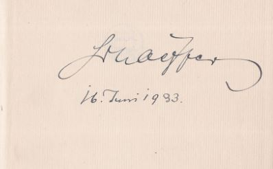Schaeffer, Albrecht. Die Marien-Lieder.