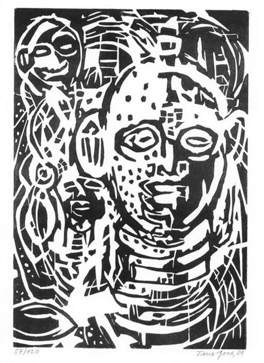 Widmer, Urs, Tina (Illustratorin) Good und Anke (Gestalter) Rosenlöcher. Im Kongo.