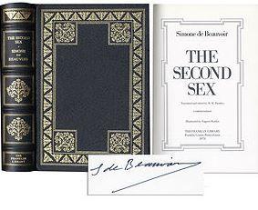Beauvoir, Simone de. The second Sex.