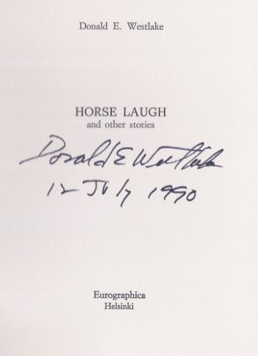 Westlake, Donald E. Horse laugh and other stories.
